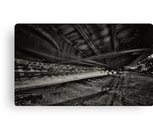 a dream about the train Canvas Print