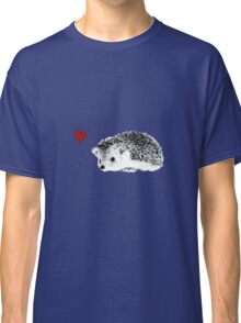 Hedgehog love Classic T-Shirt