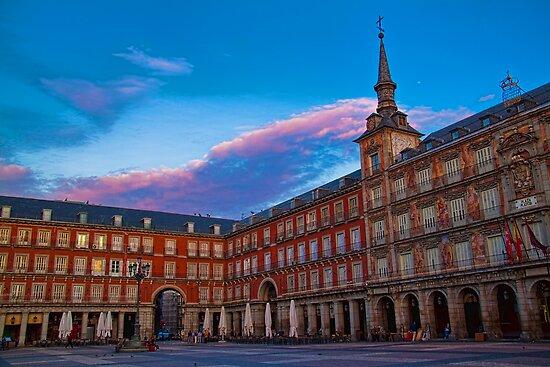 Spain. Madrid. Plaza Mayor. by vadim19