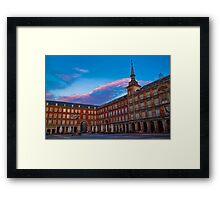 Spain. Madrid. Plaza Mayor. Framed Print