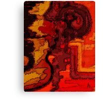 Nose Bleed Canvas Print