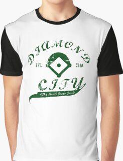 Diamond City - Green Graphic T-Shirt