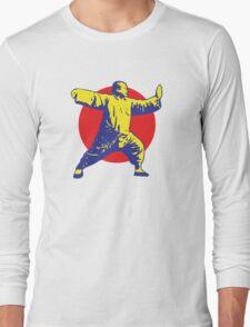 Tai Chi - Single Whip Long Sleeve T-Shirt