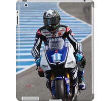 Ben Spies in Jerez 2012 iPad Case/Skin
