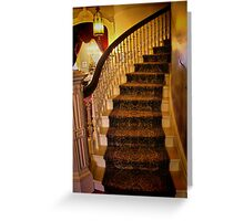 The Up Stairway Greeting Card