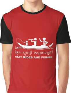 Boat Rides and Fishing Graphic T-Shirt