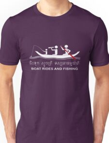 Boat Rides and Fishing Unisex T-Shirt