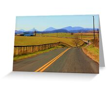 New Country SideTo Explore Greeting Card