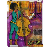 That Sistah on the Bass - iPad Cover iPad Case/Skin