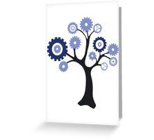 Gear Tree Greeting Card