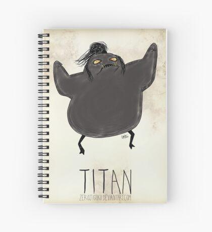 Tim Burton Titan Spiral Notebook