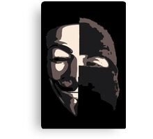 Anonymous vs ISIS Canvas Print