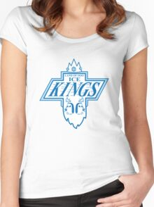 King of the Rink Women's Fitted Scoop T-Shirt