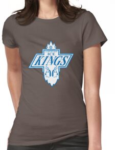King of the Rink Womens Fitted T-Shirt