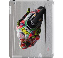 Valentino Rossi in Jerez 2012 iPad Case/Skin