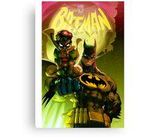 Bat Attack Canvas Print