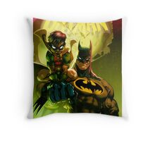 Bat Attack Throw Pillow