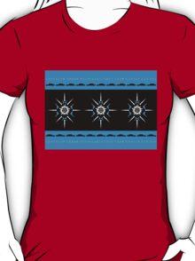 Supernaturally Happy Holidays (Blue Background) T-Shirt