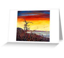 Beach Flax Greeting Card