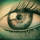 Window to the soul by KimiStMarie