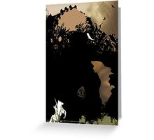 shadow of the colossus_3 Greeting Card