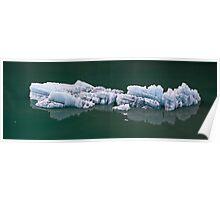 Alaska Glacier Ice Poster