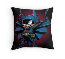 Bat-Mite Throw Pillow