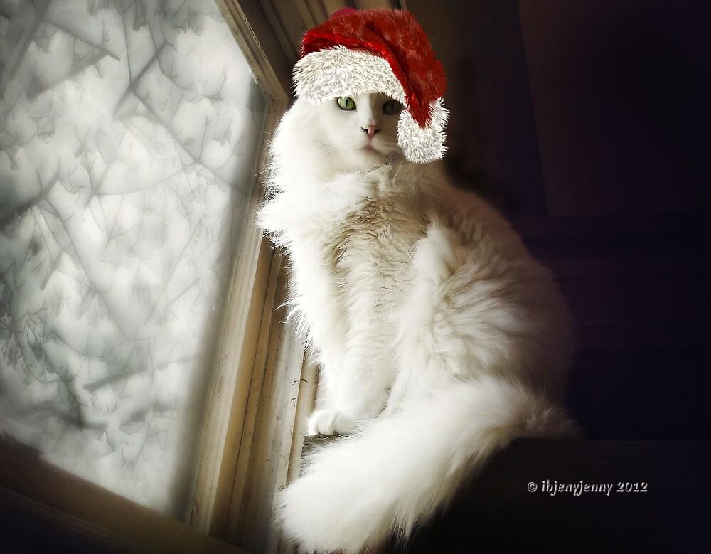 Meowy Christmas by ibjennyjenny