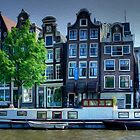 Amsterdam - Wonky Houses by Paul Welding