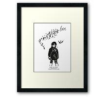 LITTLE LOVE EXPAND Framed Print
