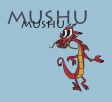 Mushu [with name] by MrRaccoon
