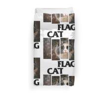 Cat Flag Duvet Cover