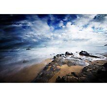 Sea Rush Photographic Print