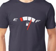 Fuel Gauge - 3/4 Full Unisex T-Shirt