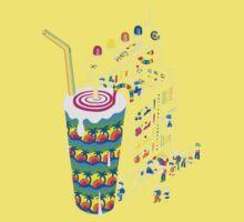 Milkshake One Piece - Short Sleeve