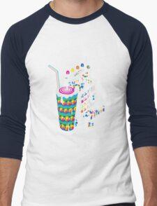 Milkshake Men's Baseball ¾ T-Shirt