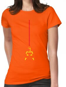 Cyclops Beam Womens Fitted T-Shirt