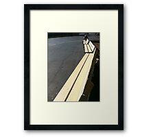 Bench Framed Print