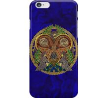 Celtic Heart with Angels and Birds iPhone Case/Skin