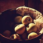 Basket of Apples by Pamela Holdsworth