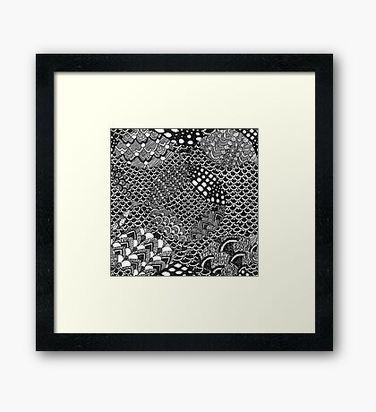 A Thousand Scales Framed Print