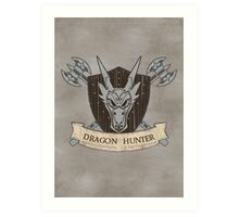 The Dragon Hunter (V1) Art Print
