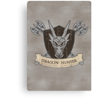 The Dragon Hunter (V1) Canvas Print