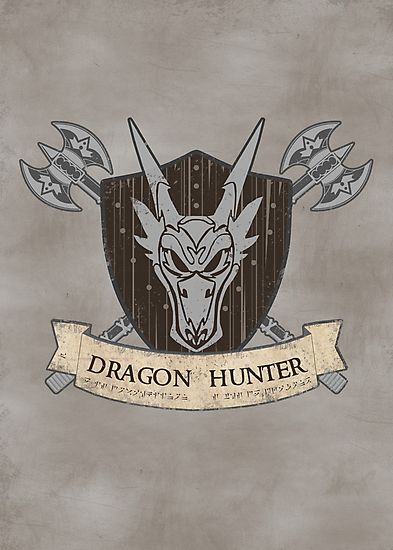 The Dragon Hunter (V1) by thehookshot