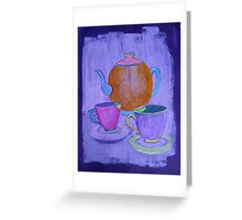Tea for Two Greeting Card