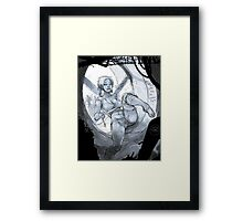 Patch Time Framed Print