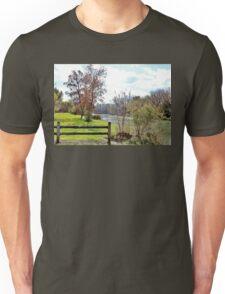 Yahara River in October Unisex T-Shirt
