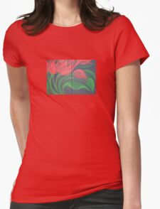 Red Tulip Diptych T-Shirt