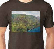 The Na Pali Coast from a Helicopter Unisex T-Shirt