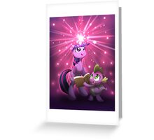 Twilight Sparkle Magic Greeting Card